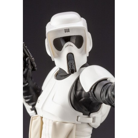 Star Wars Episode VI Estatua ARTFX+ 1/10 Scout Trooper 18 cm Kotobukiya