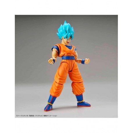 SSSGODSS Son Goku Model Kit Figura 14 CM Dragon Ball Figure-Rise Standard