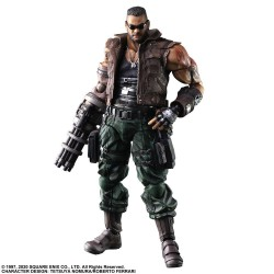Final Fantasy VII Remake Play Arts Kai Figura Barret Wallace Ver. 2 28 cm