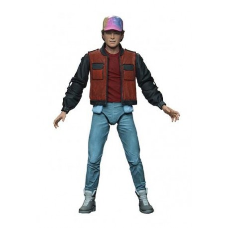 Marty Mcfly Figura 18cm Scale Action Back To The Future Neca