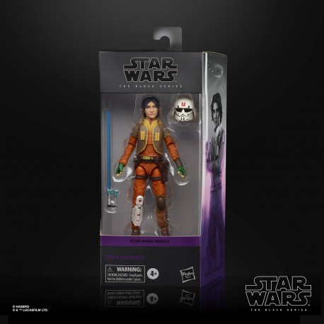 Figura Ezra Bridger Star Wars The Black Series Hasbro