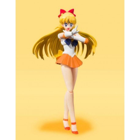 Sailor Moon Figura S.H. Figuarts Sailor Venus Animation Color Edition 14 cm