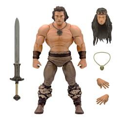 Conan el Bárbaro Figura Ultimates Conan Iconic Movie Pose 18 cm Super 7