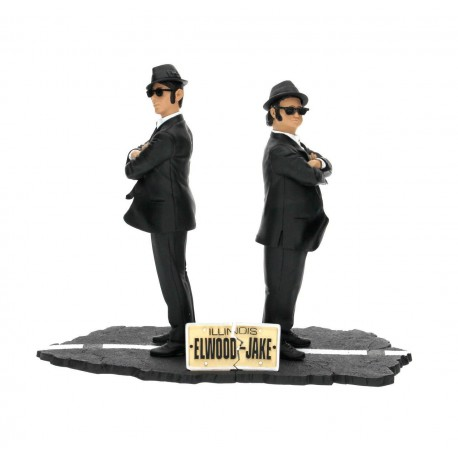 Jake  y Elwood Set 2 Figuras 17 cm The Blues Brothers SD Toys