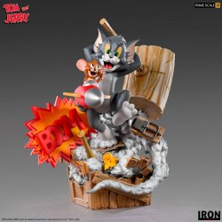 Tom & Jerry Estatua Legacy Prime Scale 1/3 Tom & Jerry 21 cm Iron Studios