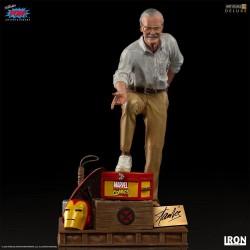 Marvel Estatua 1/10 Deluxe Art Scale Stan Lee