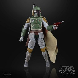 BOBA FETT E5 FIGURA 15 CM STAR WARS 40TH BLACK SERIES