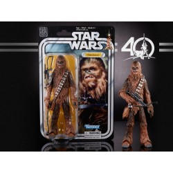 CHEWBACCA E5 FIGURA 15 CM STAR WARS 40TH BLACK SERIES