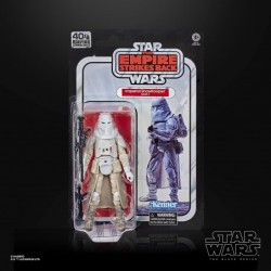 IMPERIAL SNOWTROOPER E5 FIGURA 15 CM STAR WARS 40TH BLACK SERIES