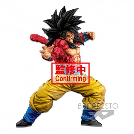 Dragonball Super Estatua Super Master Stars Piece Super Saiyan 4 Son Goku (Two Dimentions) 25 cm