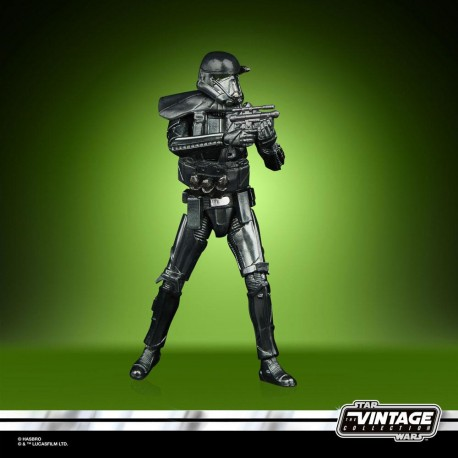Star Wars The Mandalorian Vintage Collection Carbonized Figura 2020 Imperial Death Trooper 10 cm