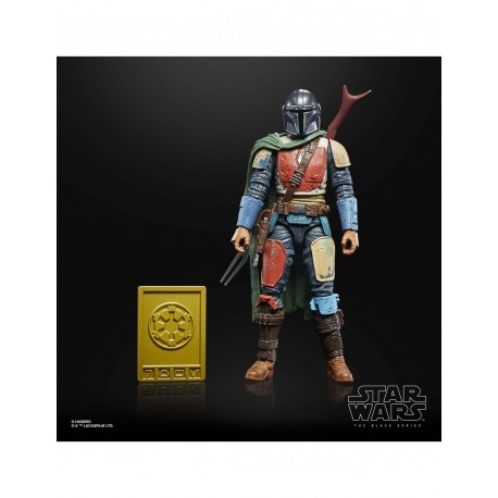 The Mandalorian Star Wars Black Series Credit Collection