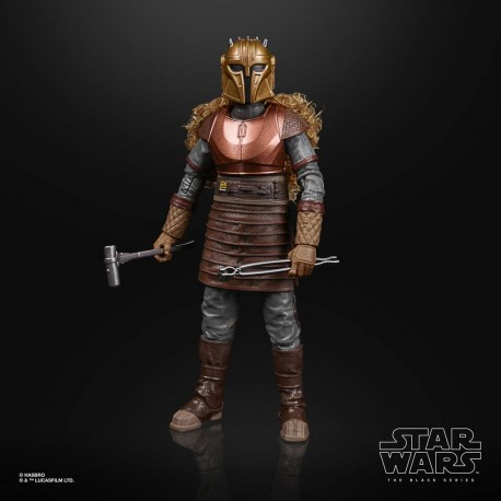 Star Wars The Mandalorian Black Series Figura 2020 The Armorer Exclusive 15 cm