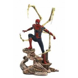 IRON SPIDER-MAN DIORAMA PVC 23 CM MARVEL MOVIE GALLERY AVENGERS INFINITY WAR