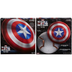 ESCUDO CAPITAN AMERICA REPLICA 60CM MARVEL LEGENDS SERIE THE FALCON AND THE WINTER SOLDIER