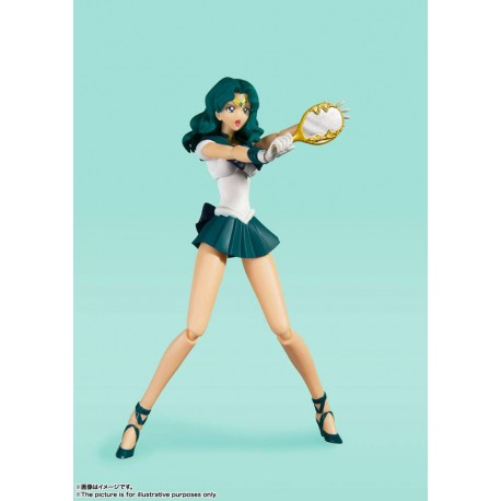 Sailor Moon Figura S.H. Figuarts Sailor Neptune Animation Color Edition 15 cm