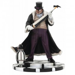 THE PENGUIN PVC DIORAMA ESTATUA DC COMIC GALLERY