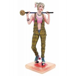 HARLEY QUINN DIORAMA PVC ESTATUA 23 CM DC MOVIE GALLERY BIRDS OF PREY