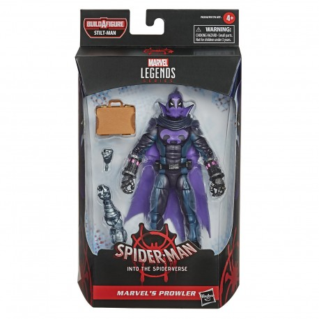 PROWLER FIGURA 15 CM MARVEL LEGENDS SPIDER-MAN INTO THE SPIDER-VERSE