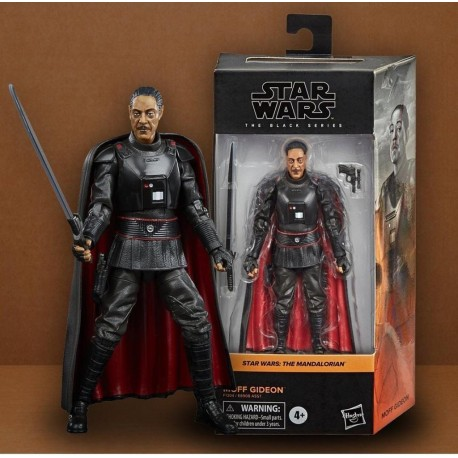MOFF GIDEON FIGURA STAR WARS THE BLACK SERIES MANDO MONDAYS