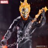GHOST RIDER & HELL CYCLE FIGURA 19 CM MARVEL THE ONE:12 COLLECTIVE