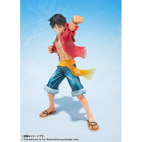 One Piece Figuarts Zero onkey D. Luffy 5th Anniversary