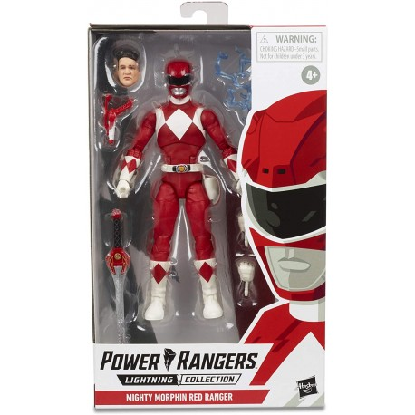 PACK RED, BLUE Y YELLOW RANGER LIGHTNING COLLECTION