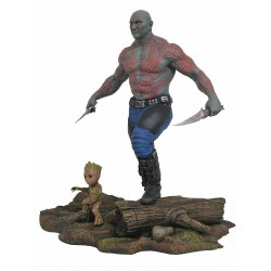 DRAX & BABY GROOT DIORAMA GUARDIANS OF THE GALAXY VOL. 2 MARVEL GALLERY