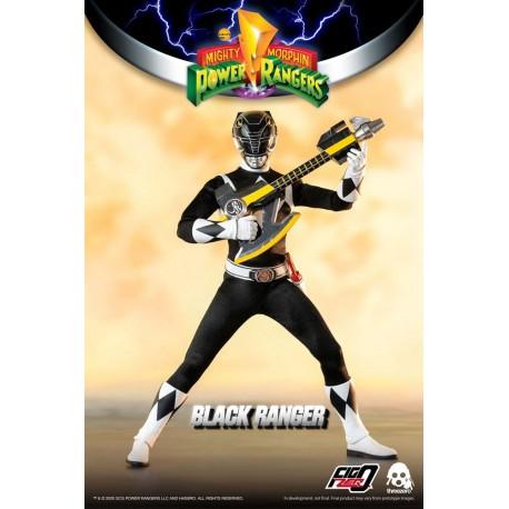 Mighty Morphin Power Rangers Figura FigZero 1/6 Black Ranger 30 cm