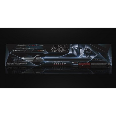 MANDALORIAN DARKSABER FORCE FX ELITE LIGHTSABER REPLICA STAR WARS