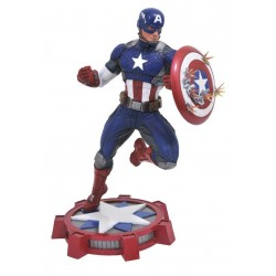 NUEVO CAPITAN AMERICA FIGURA 25 CM MARVEL GALLERY MARVEL NOW DIAMOND SELECT TOYS
