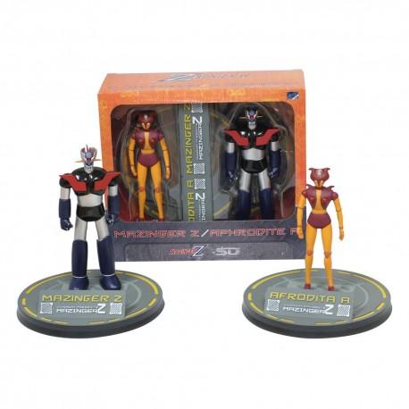 Mazinger Z Pack de 2 Figuras Mazinger Z & Afrodita A 15 - 18 cm