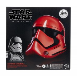 Star Wars Galaxy's Edge Black Series Casco Electrónico Captain Cardinal