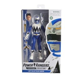 BLUE RANGER FIGURA 15 CM POWER RANGERS LIGHTNING COLLECTION LOST GALAXY