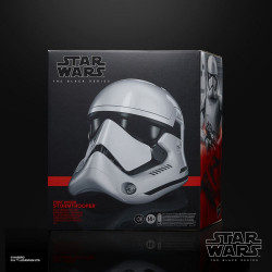 Star Wars Episode VIII Black Series Casco Electrónico First Order Stormtrooper