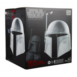 BOBA FETT CASCO PROTOTYPE ARMOR REPLICA ESCALA 1:1 BLACK SERIES STAR WARS