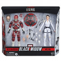 SET RED GUARDIAN + MELINA FIGURA 15 CM MARVEL LEGENDS SERIES BLACK WIDOW