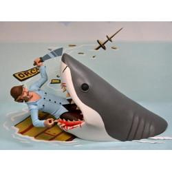 TOONY TERRORS QUINT & TIBURON PACK 2 FIGURAS 15 CM ACTION FIGURE JAWS