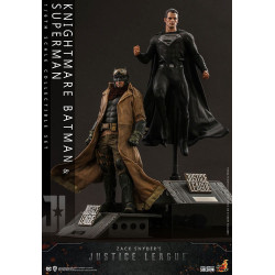 Zack Snyder's Justice League Pack de 2 Figuras 1/6 Knightmare Batman and Superman 31 cm