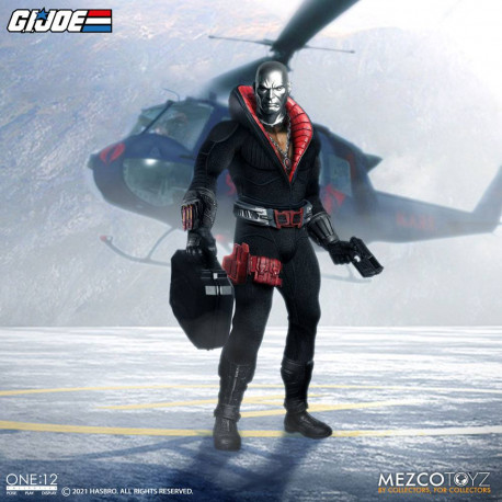 DESTRO FIGURA 17 CM G.I. JOE THE ONE:12 COLLECTIVE