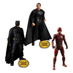1 ZACK SNYDER'S DELUXE SET 3 FIGURAS 15-17 CM DC UNIVERSE JUSTICE LEAGUE ONE:12 COLLECTIVE