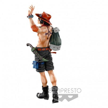One Piece Estatua BWFC 3 Super Master Stars Piece The Portgas D. Ace The Brush 30 cm