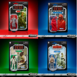 STAR WARS VINTAGE COLLECTION PACK 4 FIGURAS HASBRO PULSE FANS