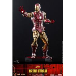 Marvel The Origins Collection Comic Masterpiece Figura 1/6 Iron Man 33 cm