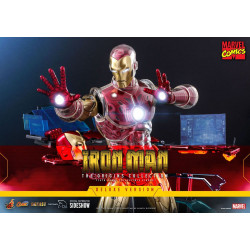 Marvel The Origins Collection Comic Masterpiece Figura 1/6 Iron Man Deluxe Version 33 cm