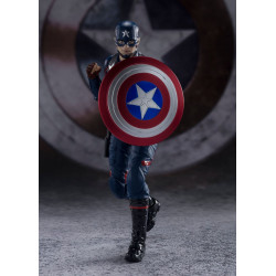 CAPTAIN AMERICA JOHN WALKER FIG 15CM MARVEL THE FALCON AND THE WINTER SOLDIER S.H.FIGUARTS