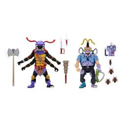 Tortugas Ninja Pack de 2 Figuras Antrax & Scumbug 18 cm