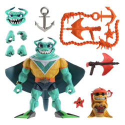 Tortugas Ninja Figura Ultimates Ray Fillet 18 cm