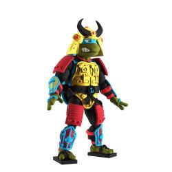 Tortugas Ninja Figura Ultimates Leo the Sewer Samurai 18 cm