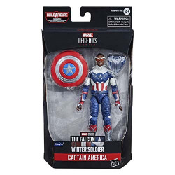CAP. AMERICA: SAM WILSON FIG 15 CM FALCON AND THE WINTER SOLDIER MARVEL LEGENDS